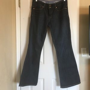 GAP 1969 Dark Wash Boot Cut Jeans. Size 10